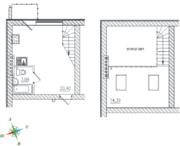 МЖК «Тихий город», планировка студии, 38.05 м²