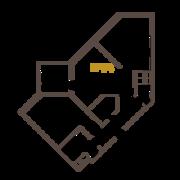 ЖК «Усадьба на Ланском», планировка 2-комнатной квартиры, 67.25 м²
