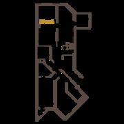 ЖК «Усадьба на Ланском», планировка 3-комнатной квартиры, 118.36 м²
