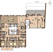 ЖК «Villa Grace», планировка 5-комнатной квартиры, 489.15 м²