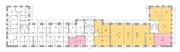 МФК «Co_Loft», планировка 5-комнатной квартиры, 69.60 м²