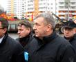 После «Похода на Москву» дольщиков «Ленсоветовского» Албин посетил долгострой