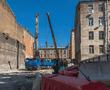 Жители Центрального района добились остановки стройки, разрушающей их дома