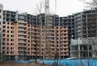 Больше чем за полгода строительство ЖК «Екатерингоф» практически не сдвинулось с места