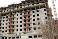Строительство ЖК «Правда-4» находится на стадии строительства верхних этажей