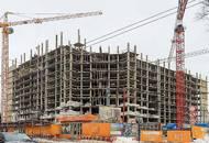 Строительство ЖК «Яуза парк» находится на уровне средних этажей