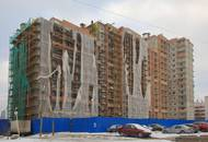 Строительство жилого комплекса «Правый берег-2» находится на этапе фасадно-отделочных работ
