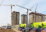 Строительство МФК «LIFE Ботанический сад» находится на этапе возведения верхних этажей