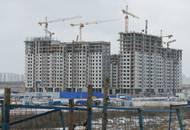 ЖК «Город на Реке Тушино-2018»: строительство находится на стадии возведения верхних этажей