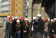 Студенты стройфакультета посетили территорию ЖК «Лондон-Парк»