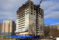 ЖК «Невский эталон»: строители перешагнули отметку в 13 этажей