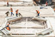 На стройплощадке ЖК «Суббота» приступили к устройству фундамента