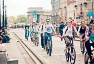 «Петербургская Недвижимость» проводит велосипедизацию населения