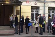 У здания прокуратуры МО митингуют дольщики Одинцовского района