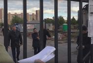 На месте строительства «Нового Купчино» начали выселять собственников гаражей
