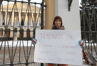 Петербуржцы продолжают борьбу с застройкой Тележной улицы