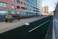 В ЖК «КосмосSTAR» начались работы по благоустройству придомовой территории