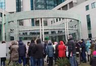 Триста недовольных дольщиков «атаковали» головной офис Сбербанка
