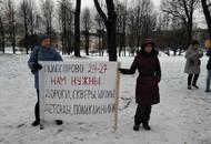 Жители квартала Полюстрово 24-27 позвали Беглова лично убедиться в плачевности благоустройства