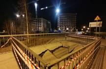 Рухнувший мост в районе Усть-Славянка отремонтируют. Рядом восставливают еще одну переправу