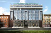 В центре Петербурга ввели в эксплуатацию «стеклянную» новостройку