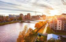 Топ-5 ЖК с самыми бюджетными квартирами в наиболее зеленых районах Петербурга