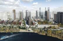 В Хорошево-Мневниках на берегу Москвы-реки построят 44-этажный жилой комплекс