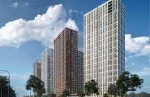 На юго-западе столицы построят три 34-этажных жилых башни