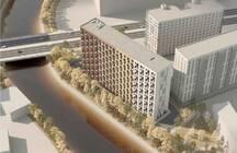 Горожане раскритиковали проект новостройки в 15 метрах от реки Охты