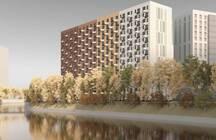 Градсовет согласовал компании «ПИК» отель в 15 метрах от реки Охта