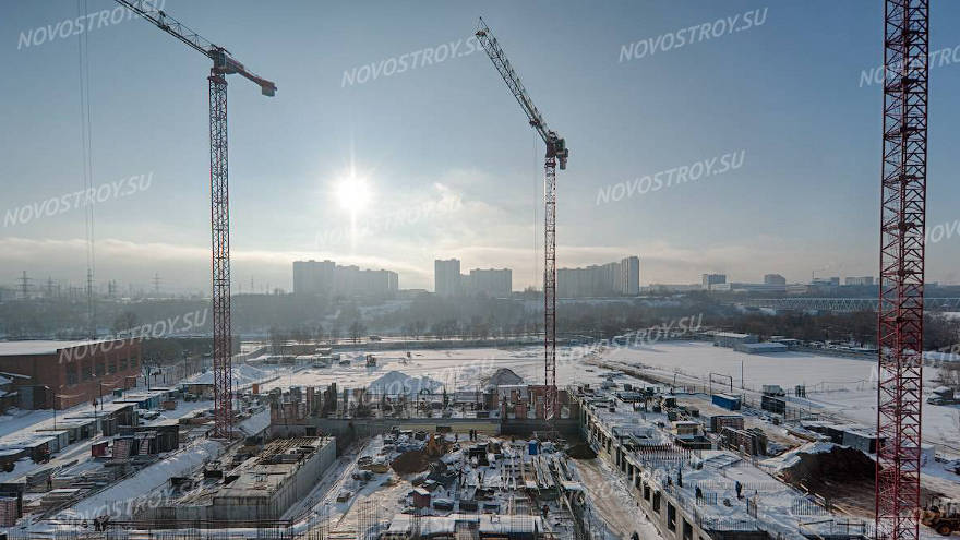 40% инвестиций приходится на строительную отрасль