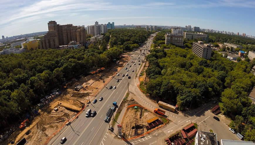 «Мостотрест» стал единственным претендентом на реконструкцию Волоколамского шоссе