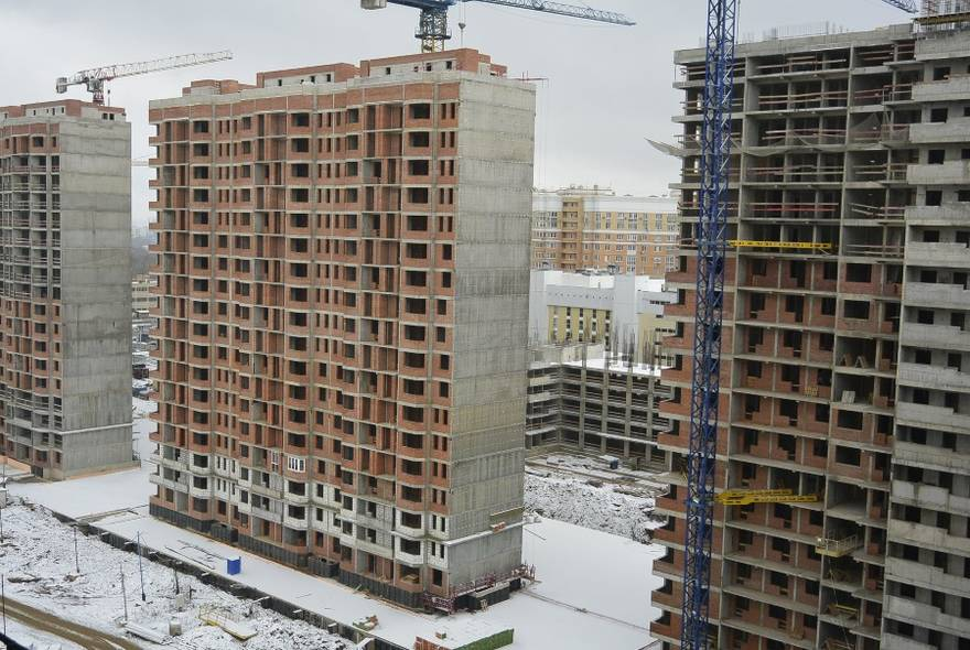Один из корпусов ЖК «Царицино» — крупнейшего долгостроя Москвы