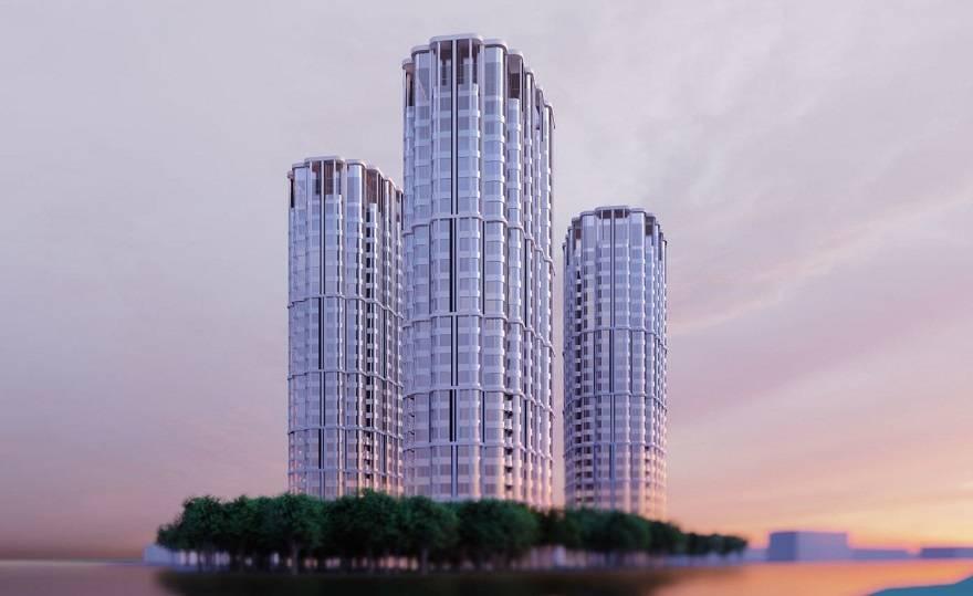 На северо-западе Москвы построят апарт-отель из трех башен