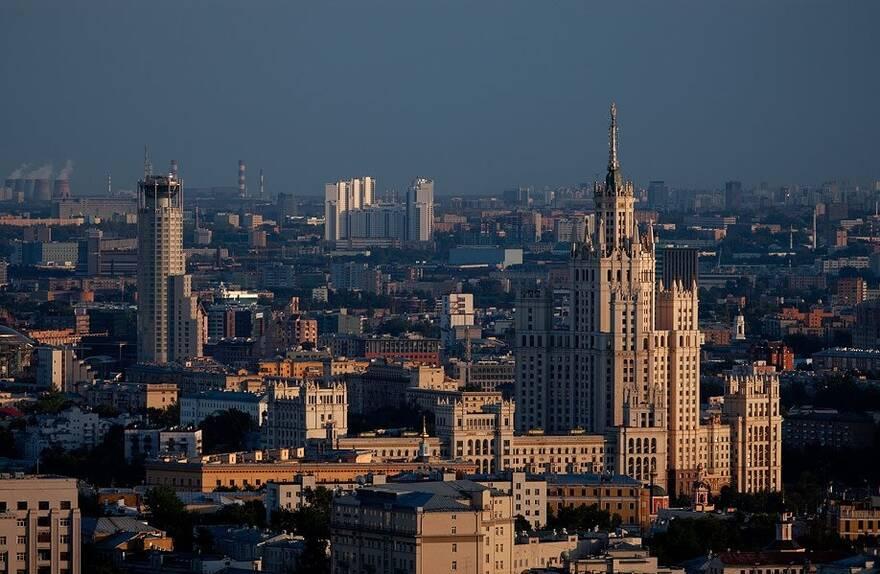 Виды на московские высотки