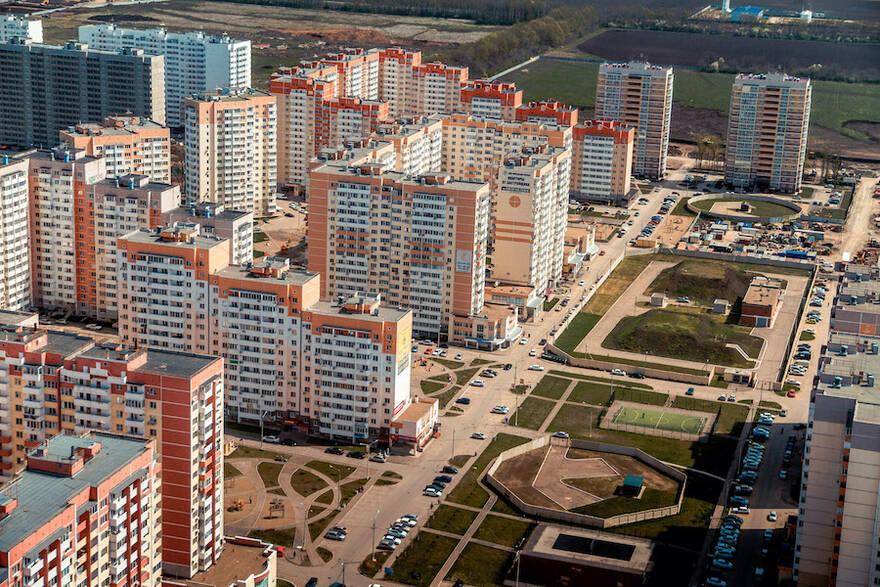 Относительно марта этого года в апреле спрос на жилье в Москве снизился на 44%