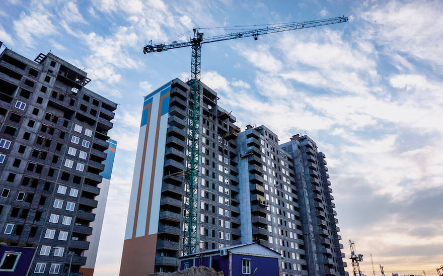 Цены на жилье экономкласса рискуют вырости на 10%