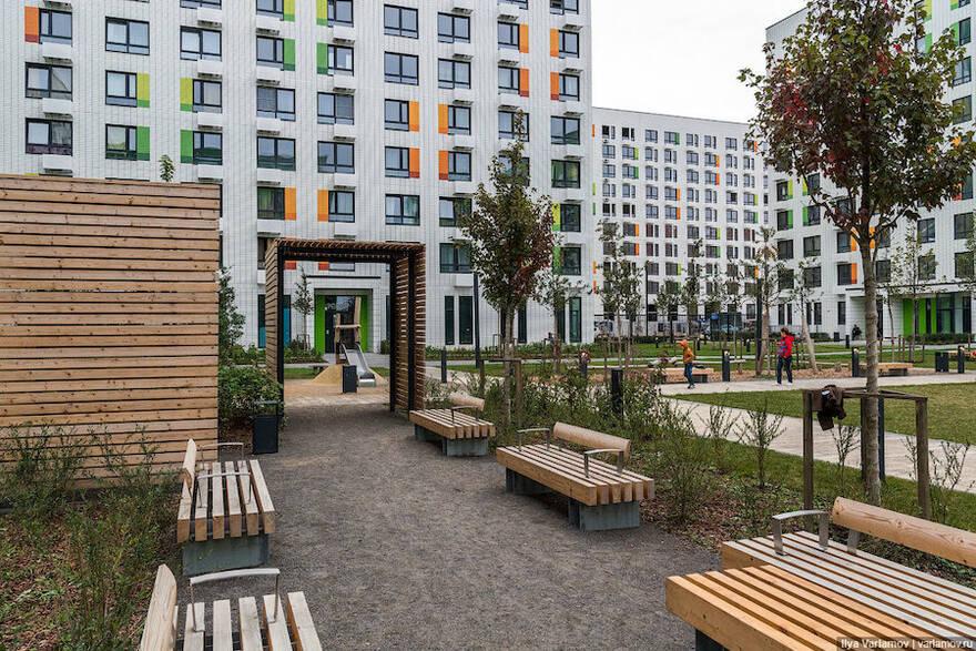 К каждому третьему ЖК в Новой Москве прилагается парк