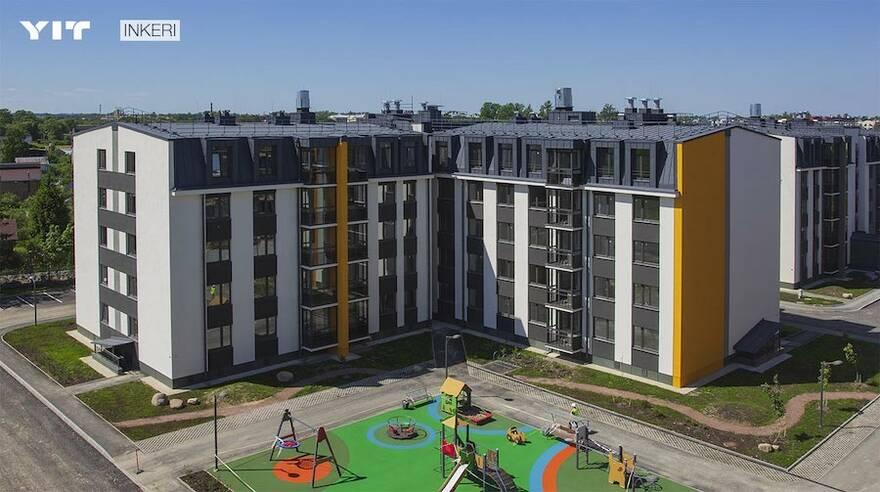 «ЮИТ Санкт-Петербург» сдал четвертую очередь ЖК Inkeri