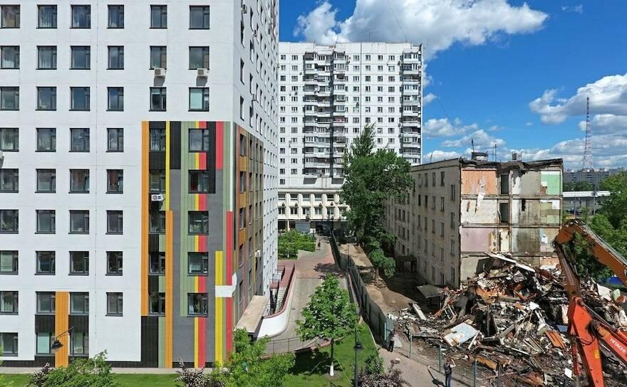 Власти утвердили проект реновации в посёлке Шишкин лес в Новой Москве