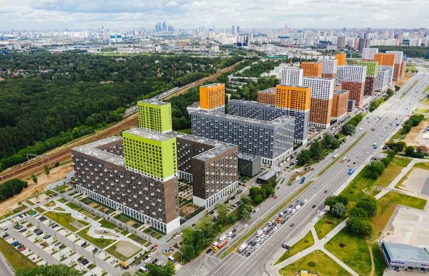 Лидером по вводу жилья в России стала «Группа компаний ПИК»