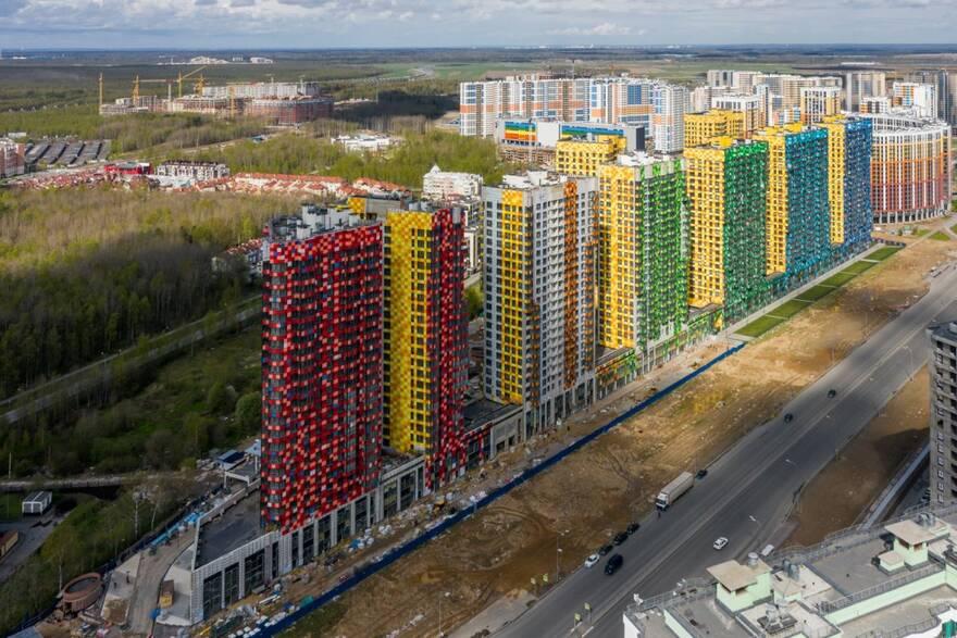 В Петербурге почти на 30% активнее скупают новостройки, чем в Москве