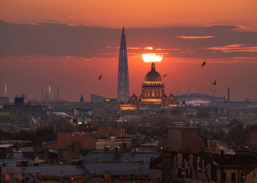 Газпром построит себе новые офисы в Петербурге
