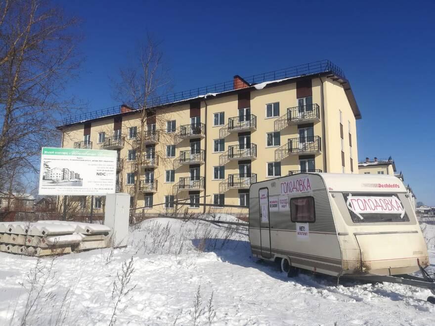 На 12 день голодовки дольщиков «Щегловская усадьба» получила положительное заключение экспертизы для достройки