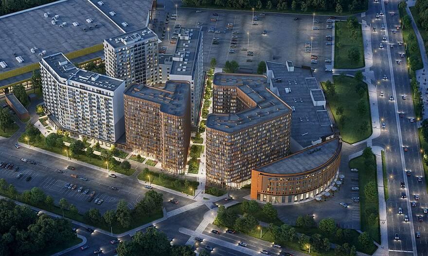 У «Ладожской» построят новый квартал с жильем и апартаментами
