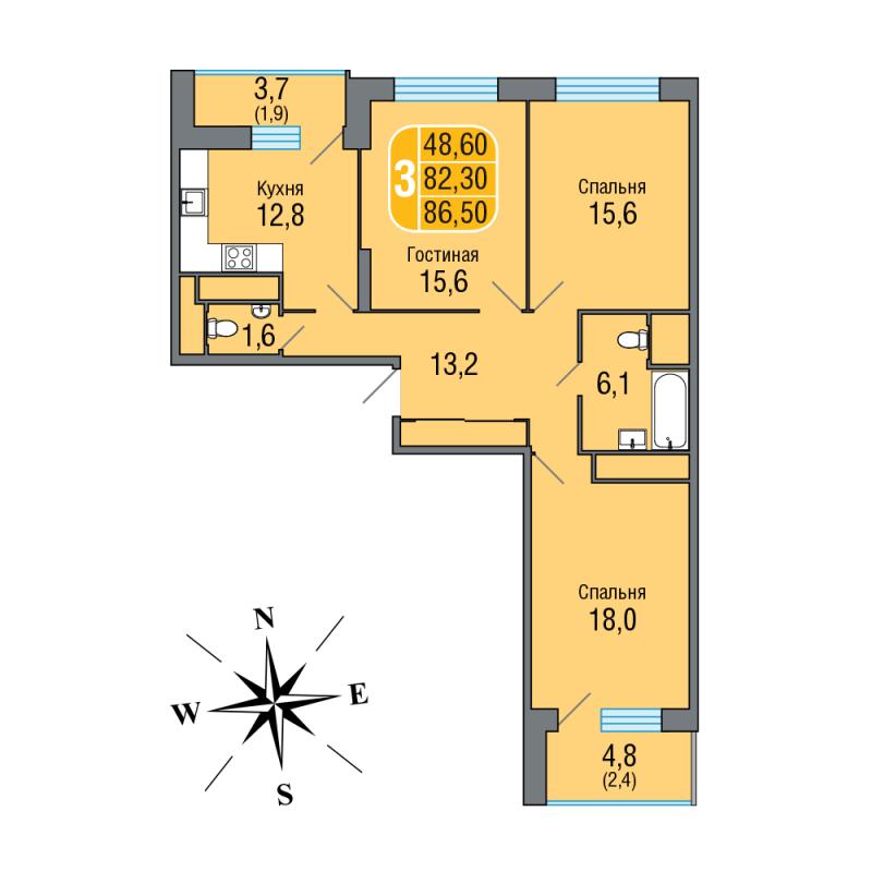 """Жк """"одинбург"""": цены на квартиры от 2.89 млн. $, планировки к."""